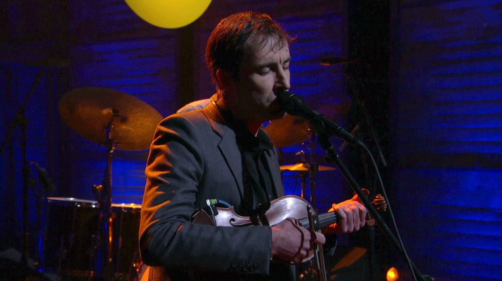 "Checkout Andrew Bird's live performance of the song ""Capsized"" on Conan O'Brien #AreYouSerious"