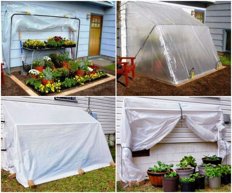 Ideas & Products: How To Build A Fold-Down GreenHouse