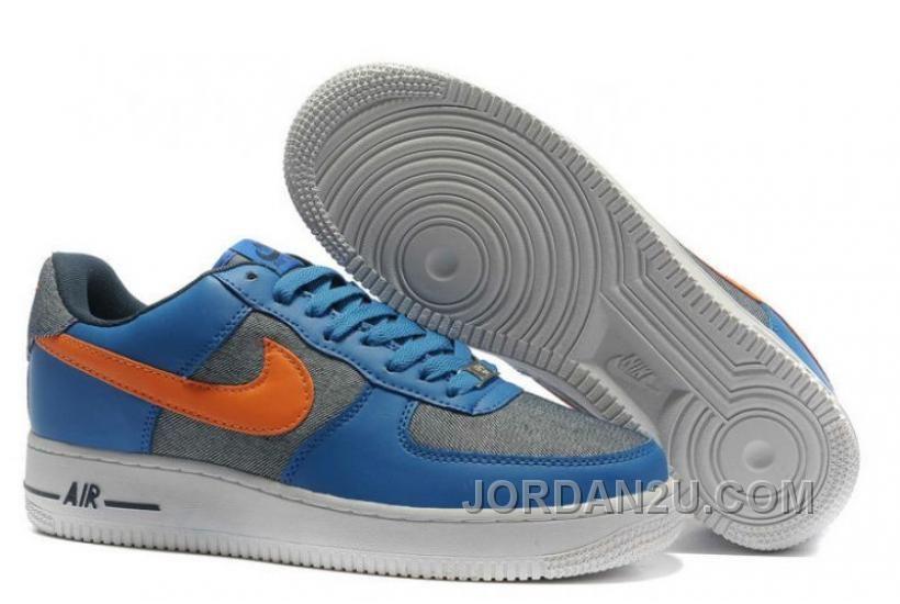 Nike Womens Air Force 1 Low Upstep BR Gamma Blue A7Krx 6e5fbdea2