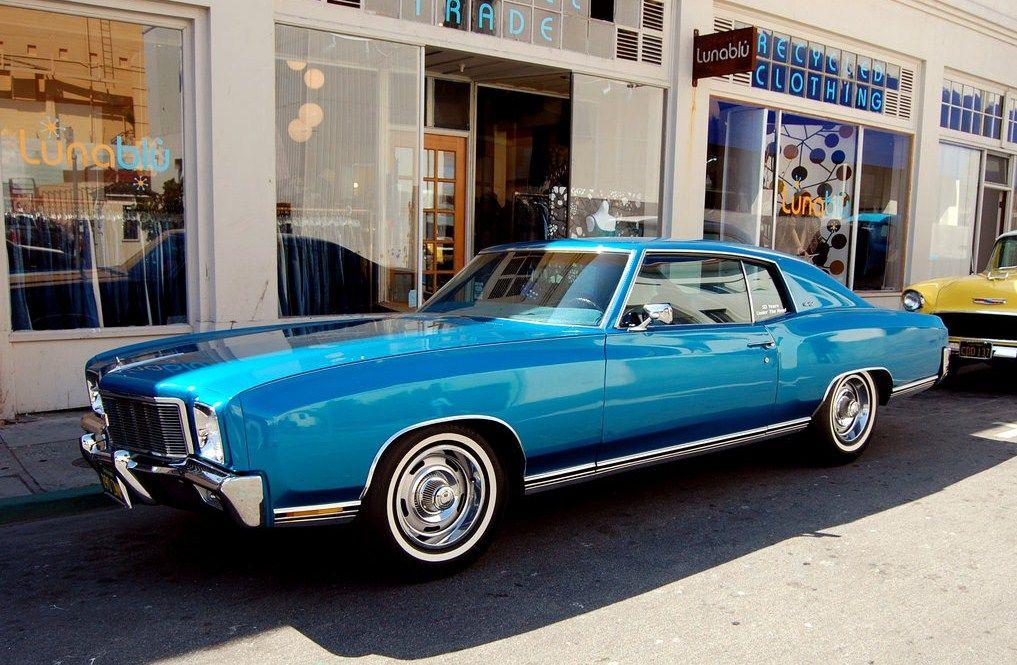 Blue Monte Carlo 70 S Chevy Monte Carlo Chevy Monte Carlo