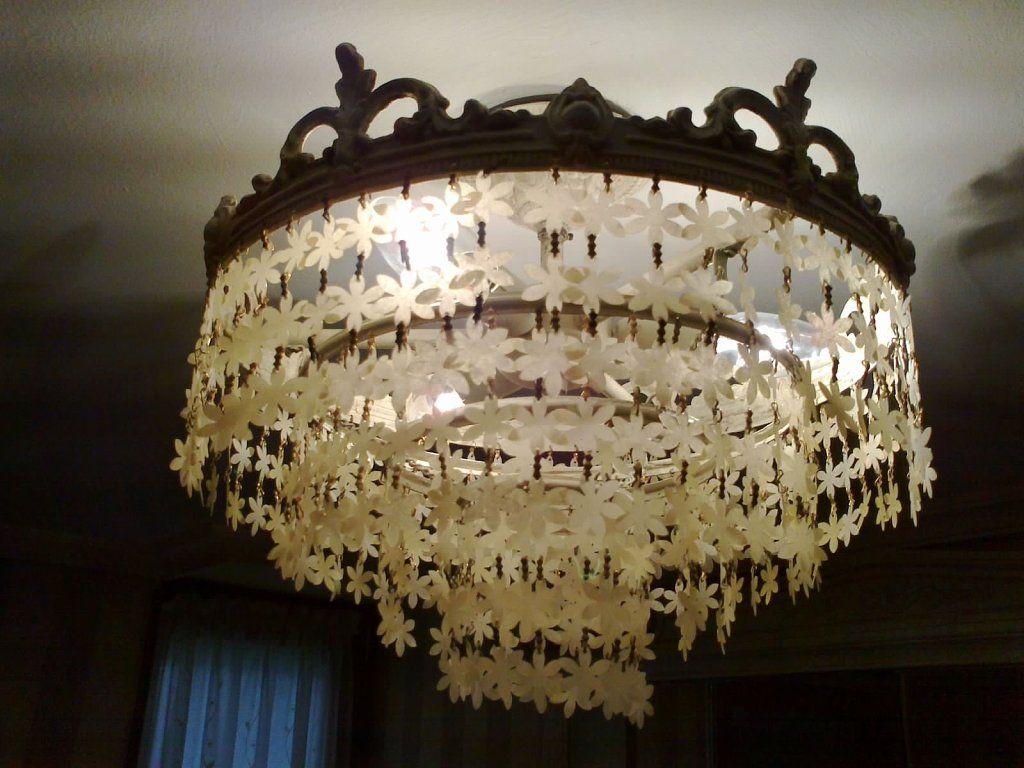 lamparas recicladas para techo buscar con google
