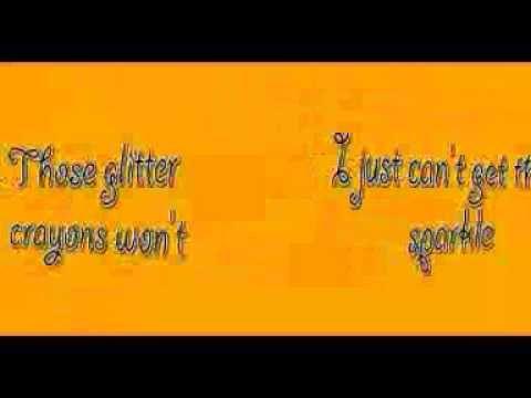 Crayola Lyrics By Kristin Adreassen Youtube Lyrics Crayola
