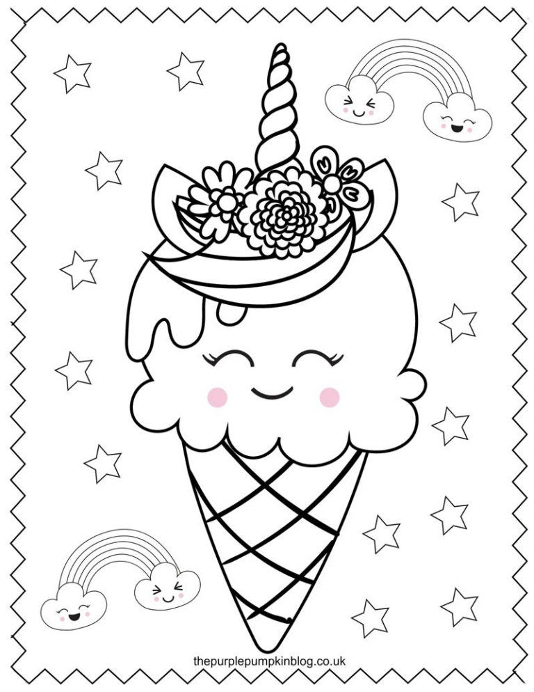 Super Sweet Unicorn Coloring Pages Free Printable Colouring Book Unicorn Coloring Pages Printable Coloring Book Free Coloring Pages