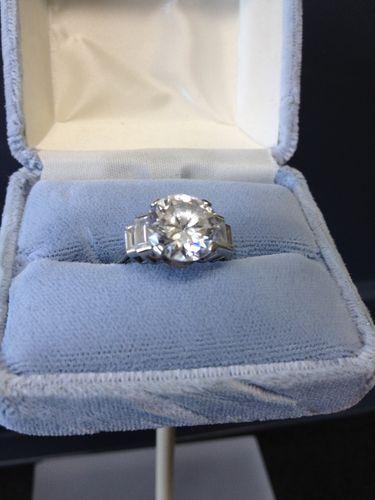 Titanic Movie Kate Winslet S Prop Diamond Engagement Ring Ebay