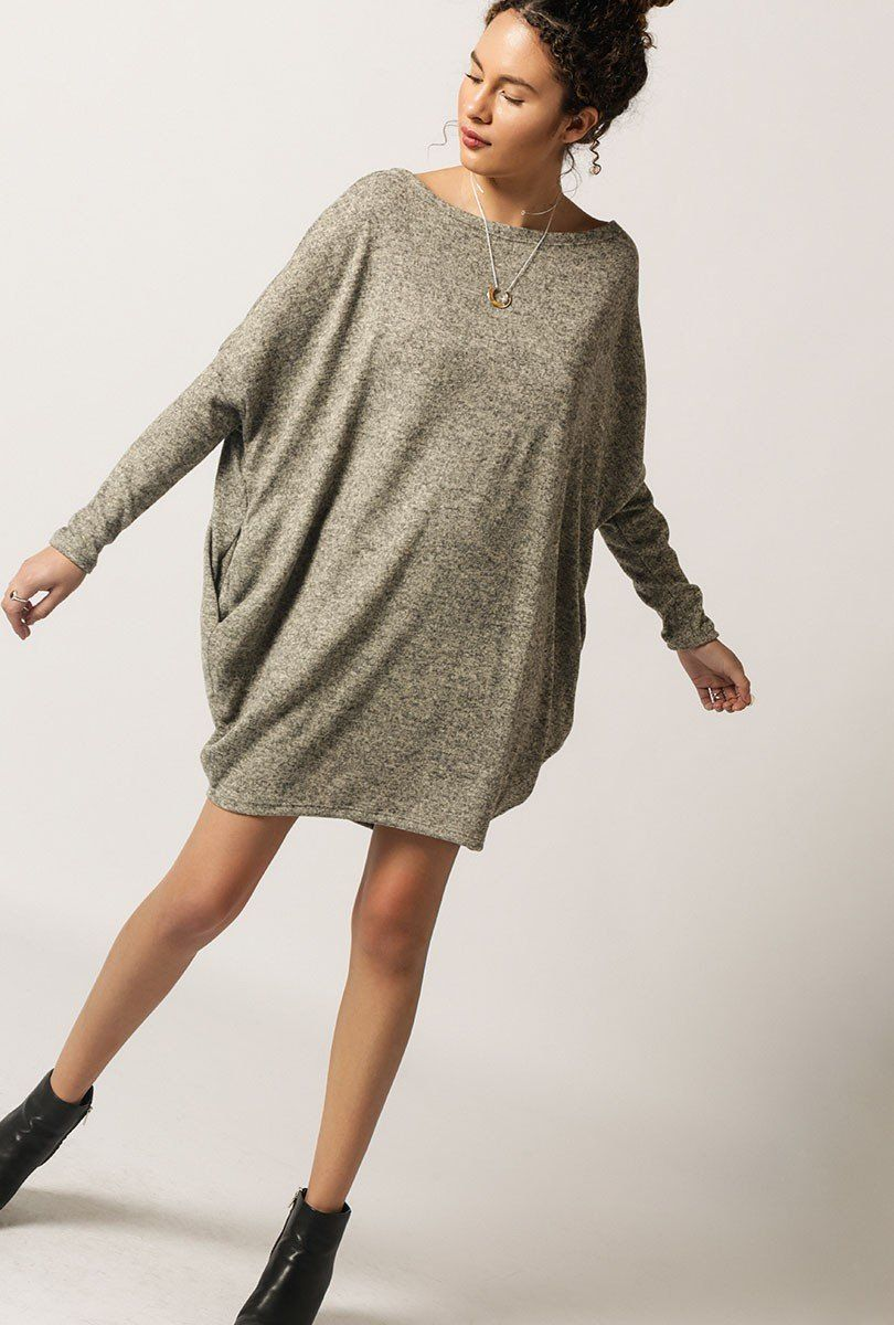 Sweater Dress | Shoulder, Drop and Fashion