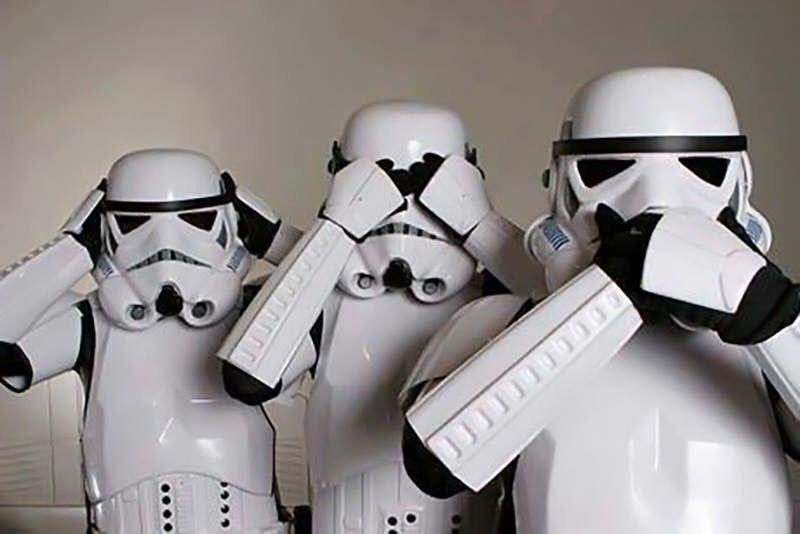 Star Wars con emojis de changuitos!!!! Jajajajaja