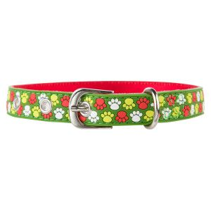 Top Paw Pet Holiday Paw Print Buckle Collar Collars Petsmart Waterproof Dog Collar Pet Holiday Petsmart