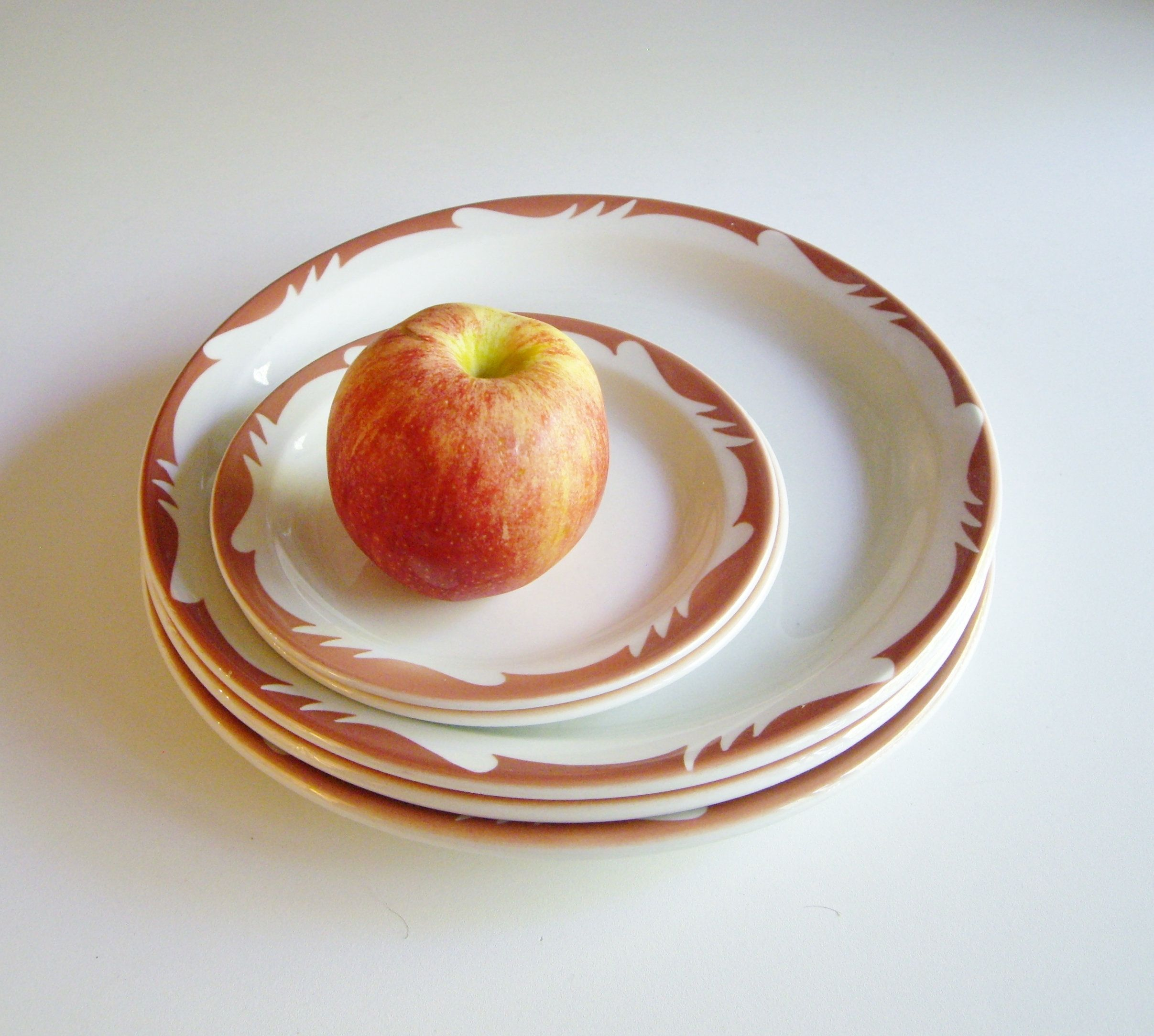 Restaurant Dinner Plates And Side Plates Mid Century Heath