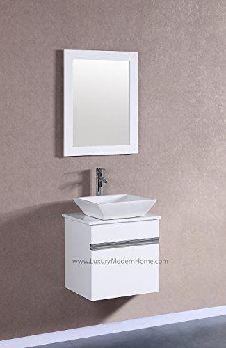 49 Teak Wall Mount Vanity Top For Vessel Sink Bathroom Floating Bathroom Vanities Small Space Bathroom Vanity Diy Bathroom Design