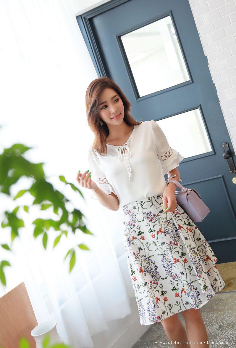 Romantic & Trendy Looks, Styleonme | แฟชั่นผู้หญิง | Pinterest | Kleider