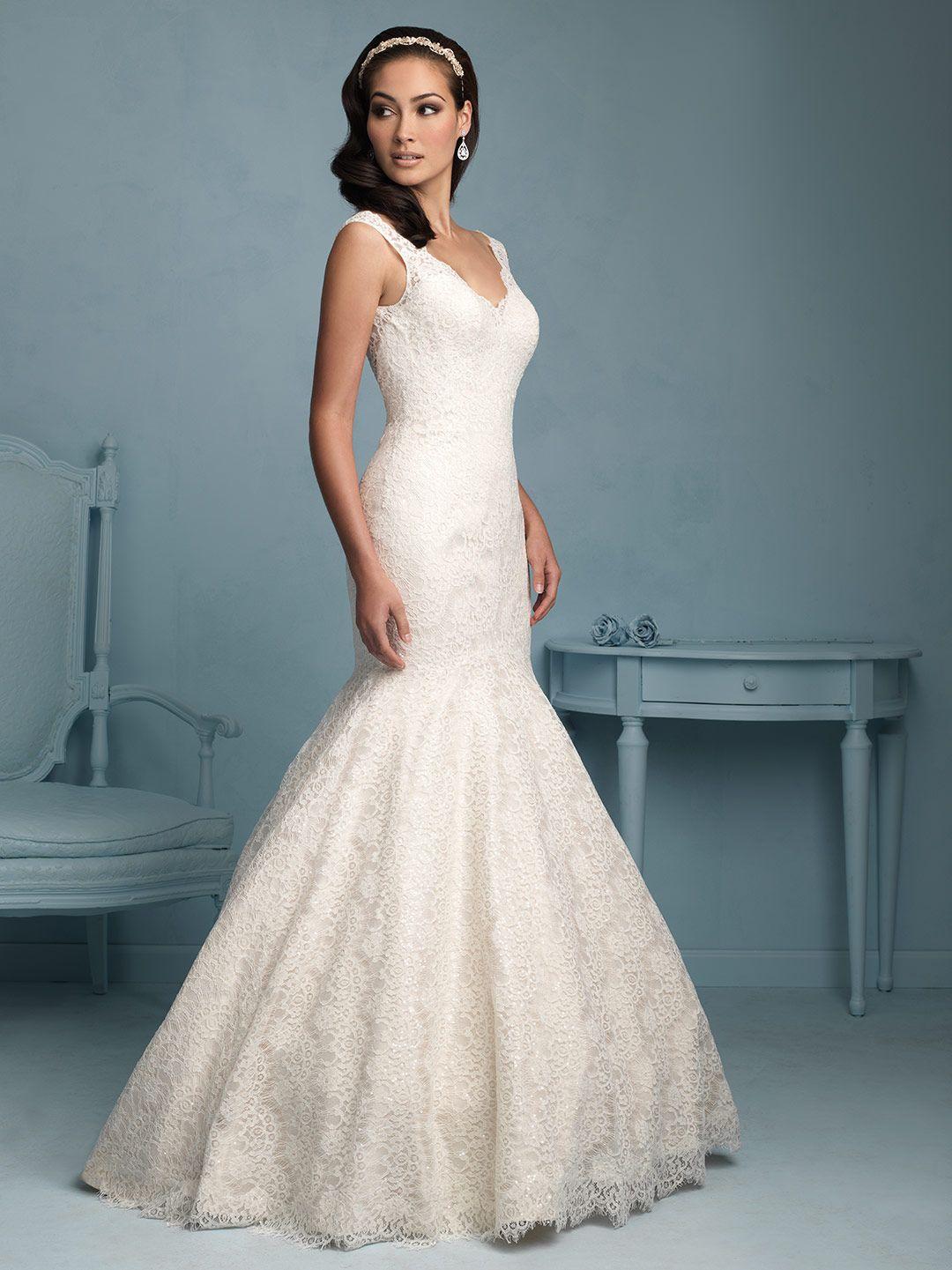 Allure bridals a song pinterest wedding dress simple