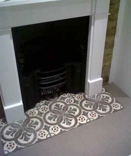 Antique Tile Fireplace Ideas Reclaimed Tile Company Reclaimed