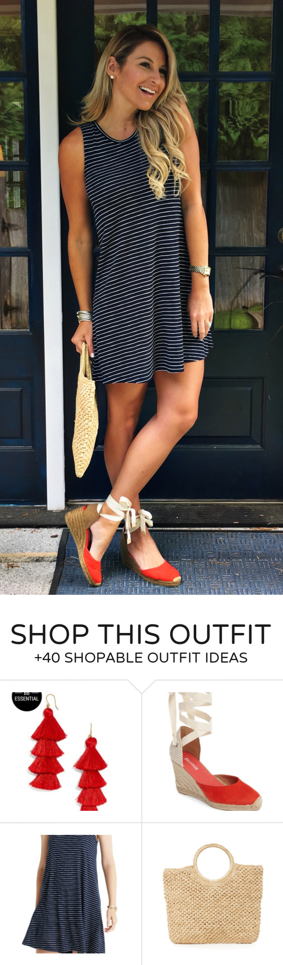 flawless outfit ideas to beat the summer heat red pumps