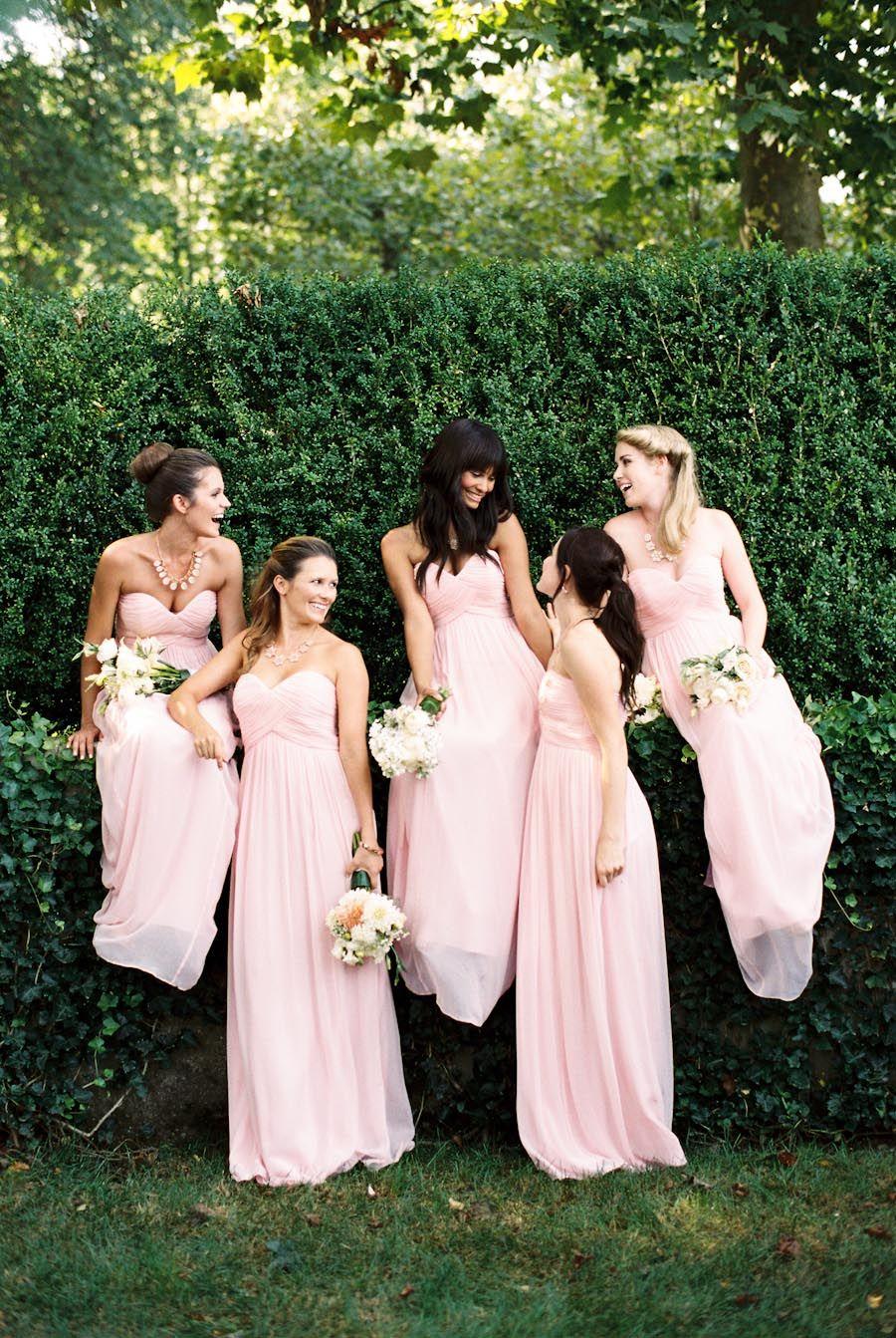 Donna morgan bridesmaids spring campaign photography by