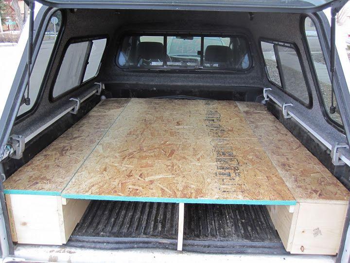 Tacoma Sleeping Platform, Carpet Kit, Camping Setup ...