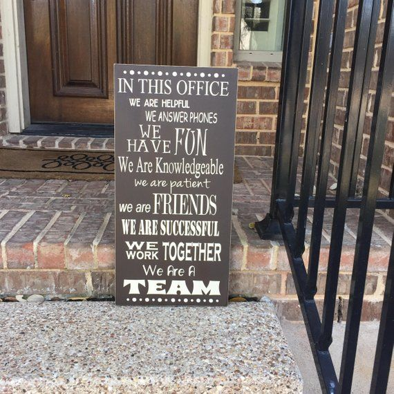 Items similar to Bosses Day Office Decor Gift ~ Office Rules Gift For Boss Wooden Sign In This Office Gift Ideas For Boss ~ Team Building Sign Best Boss Ever on Etsy