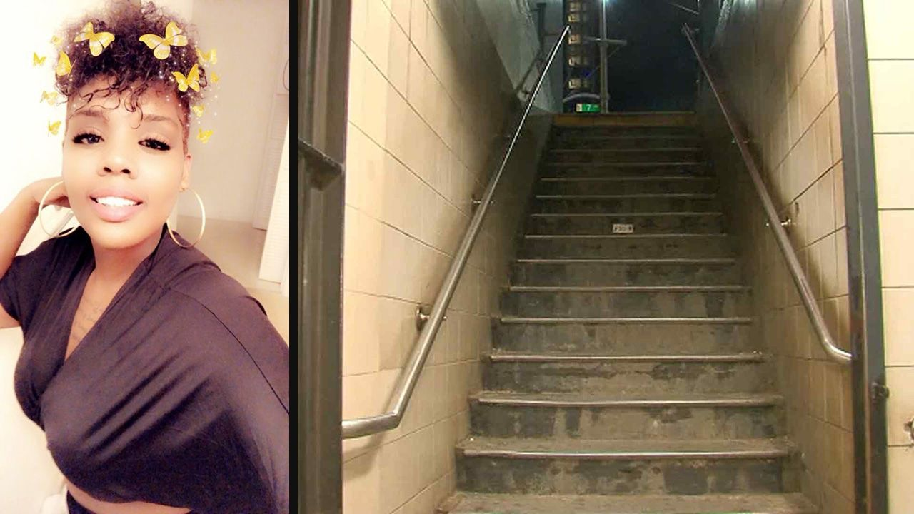Mother dies after falling down New York City subway stairs