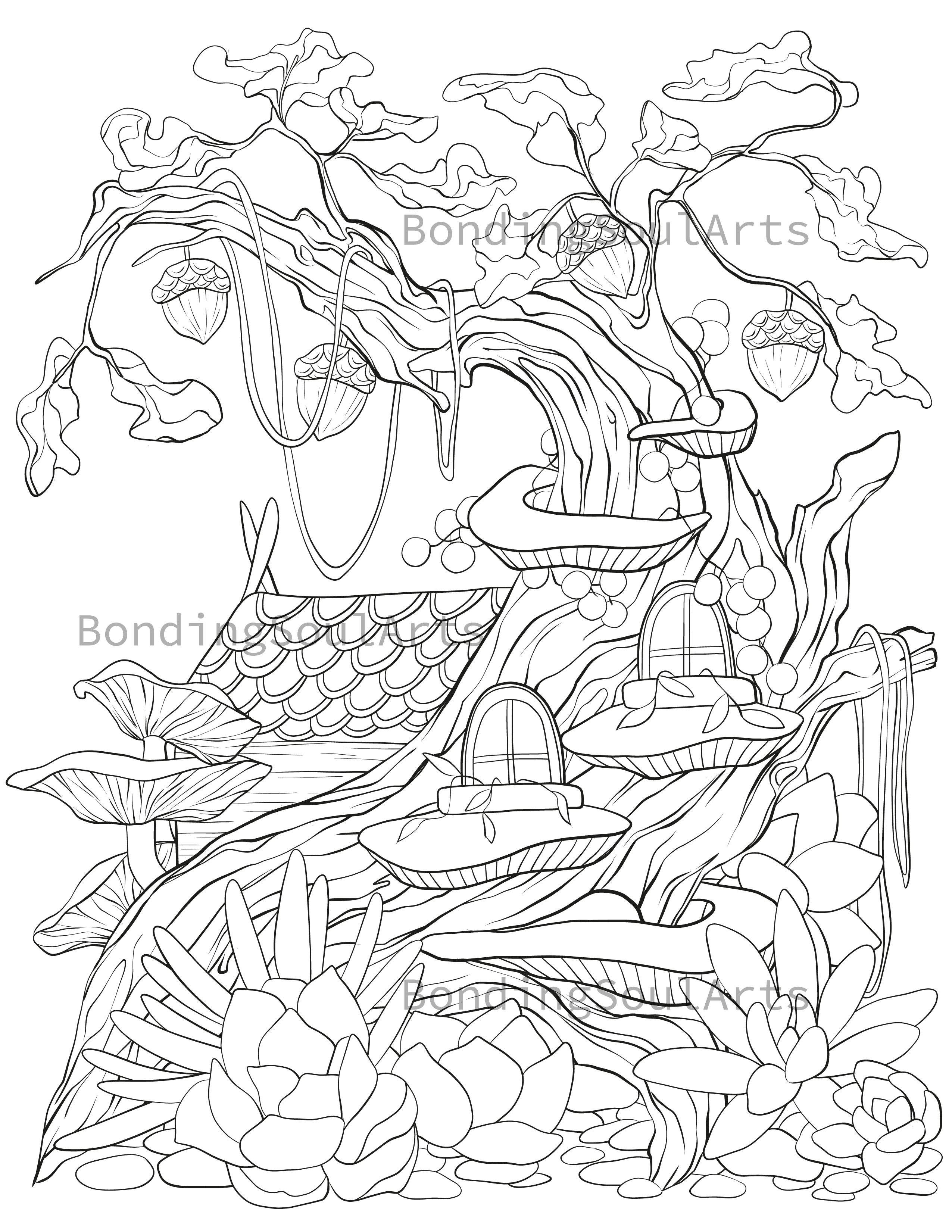 This Item Is Unavailable Etsy In 2021 Detailed Coloring Pages Coloring Pages Coloring Pages Nature