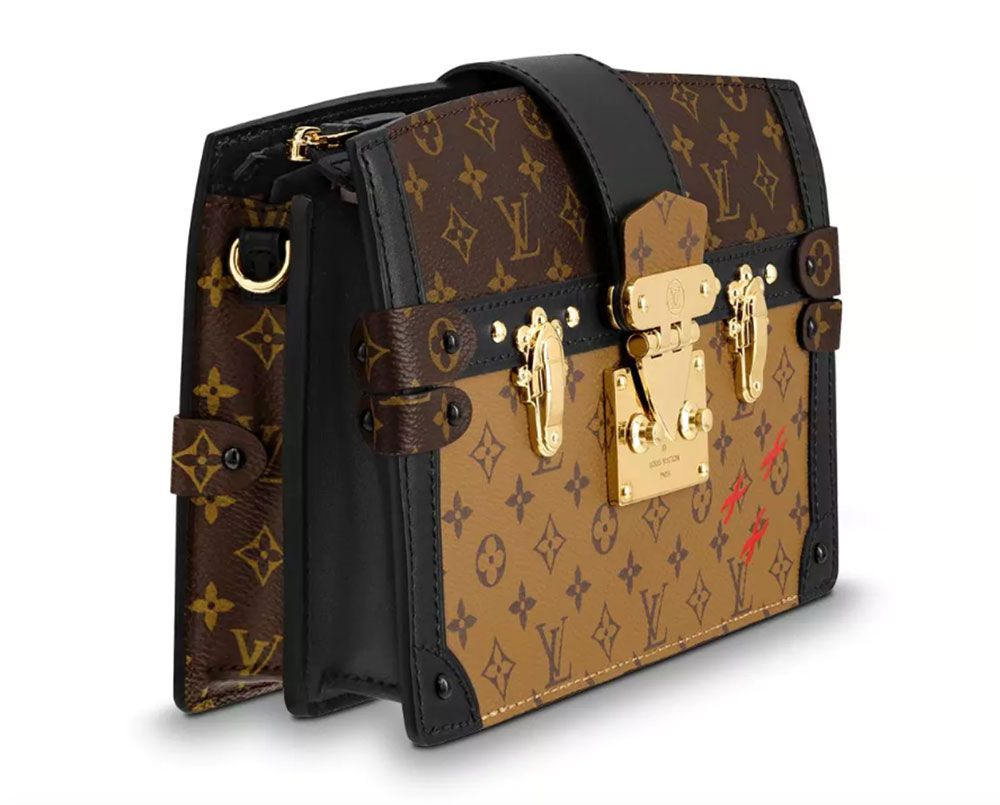 1d442bf93072 The New Louis Vuitton Trunk Clutch Tries to Make a Popular Clutch a Little  More Wearable