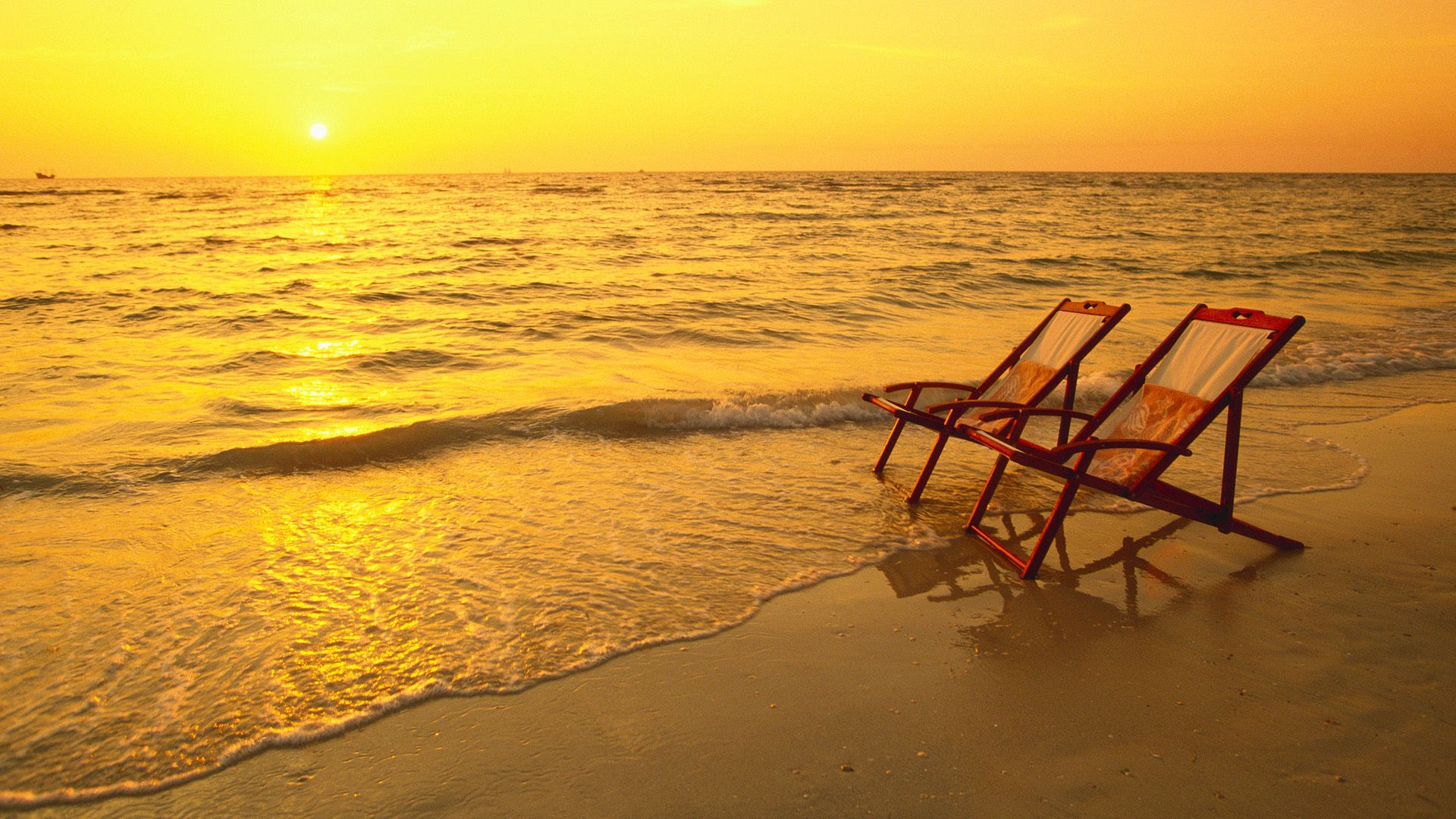 Beach with chairs - Beach Chairs At Sunset More Details At Usefultraveltips Net Beautiful Nature Pinterest On The Beach Beach Sunsets And Sun