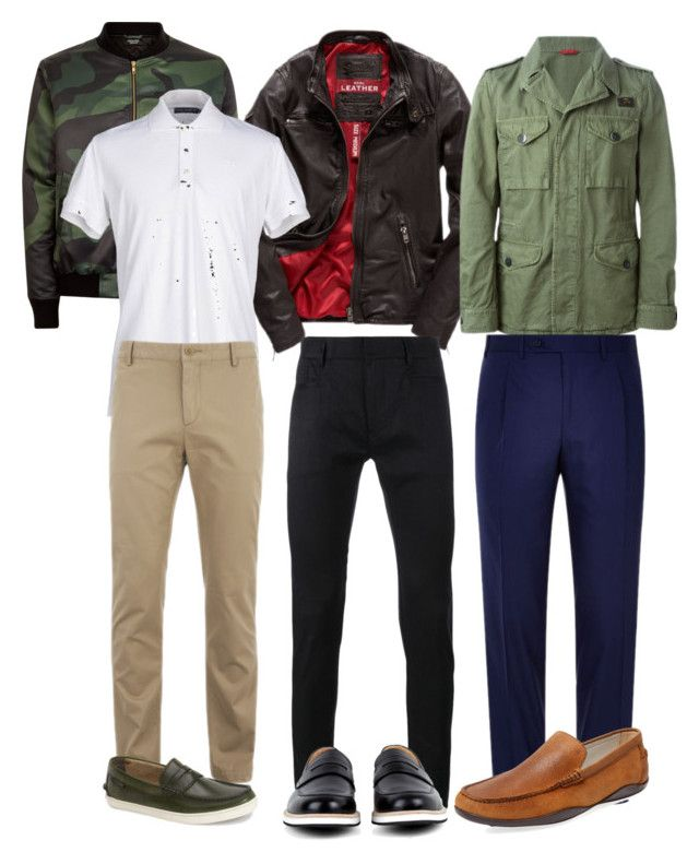"""Men's Office casual"" by poshscarlet ❤ liked on Polyvore featuring Superdry, FAY, Dolce&Gabbana, Haider Ackermann, Lacoste, Canali, Want Les Essentiels de la Vie, Cole Haan, Harrys of London and men's fashion"