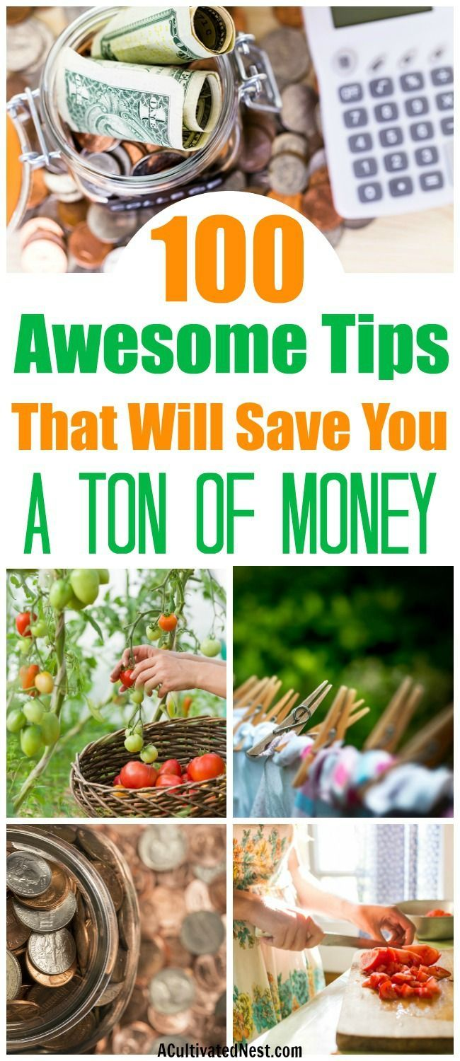 100 Tips to Help You Live Within Your Means- Frugal living isn't difficult, if you know the right tips. To help you start living frugally, check out my 100 tips to help you live within your means! They're a lot easier to implement than you'd think, and can save you a lot of money! - frugality, ways to save money, reduce your expenses, get out of debt, #frugalLiving #saveMoney #moneySavingTips #debtFree