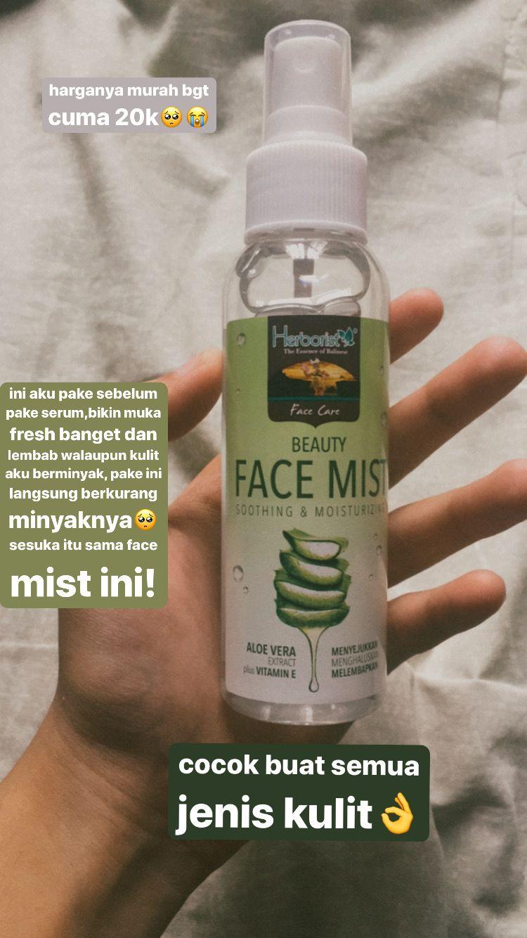 Face Mist Untuk Kulit Berjerawat Dan Berminyak