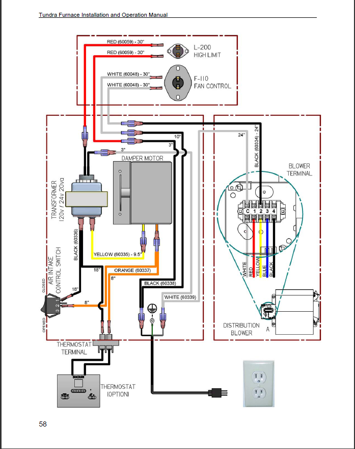 R A Wiring Diagram For Oil Furnace on