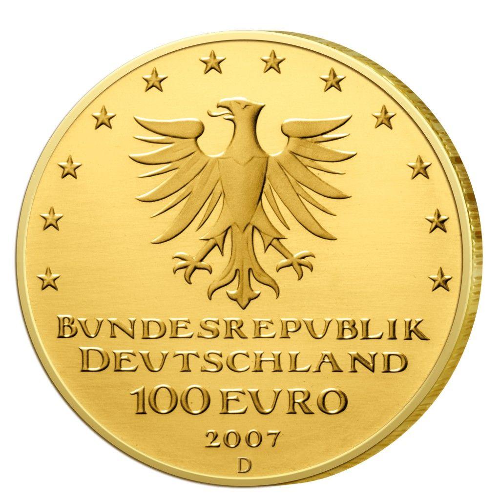 Deutschlands Euro Gold BRD 100 Euro Goldmünzen 2002 bis