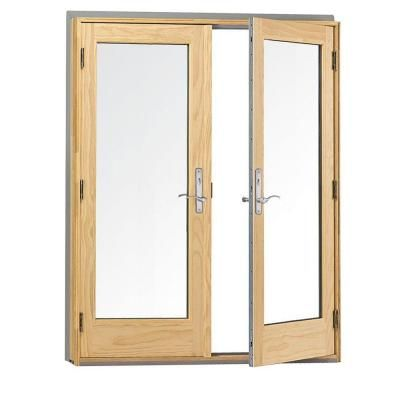Andersen 400 series frenchwood pine interior hinged inswing patio andersen 400 series frenchwood pine interior hinged inswing patio door with lowe4 glass 9117172 at planetlyrics Image collections