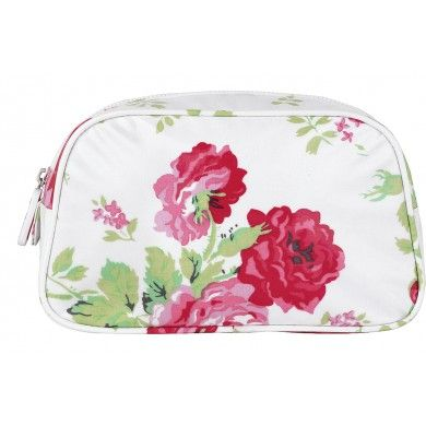 Trousse de toilette moyenne Rose Bouquet Cath Kidston