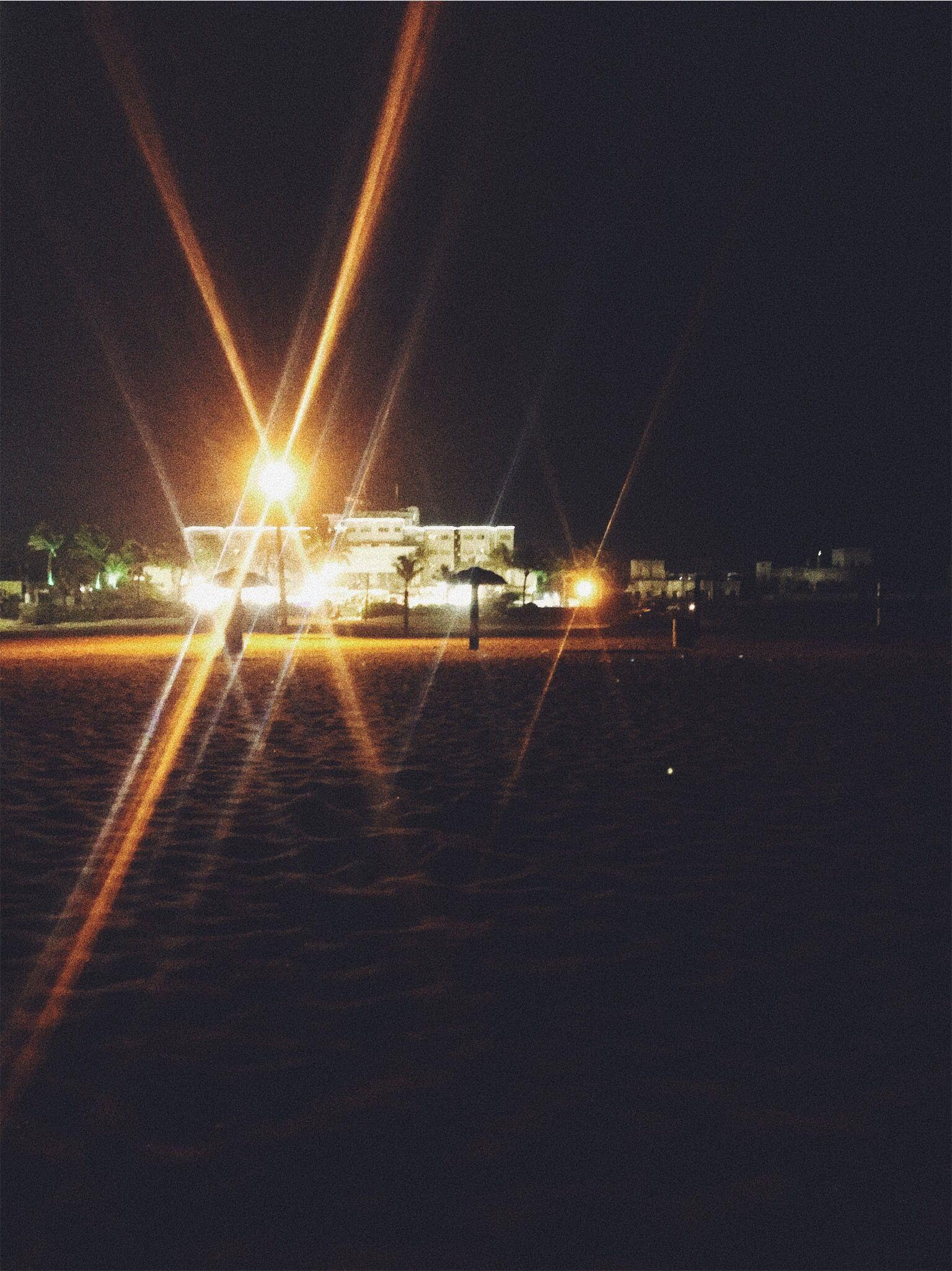 Beach Night Lights Vsco Opera