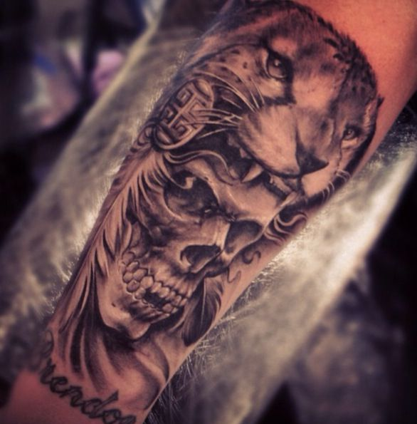 Skull Headdress Ink Tattoos Headdress Tattoo Feather Tattoos