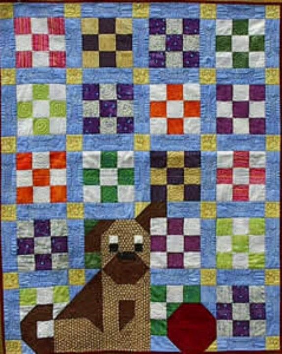 Still my favorite one!  http://www.oldmadequilts.com/products/dog_quilt.html