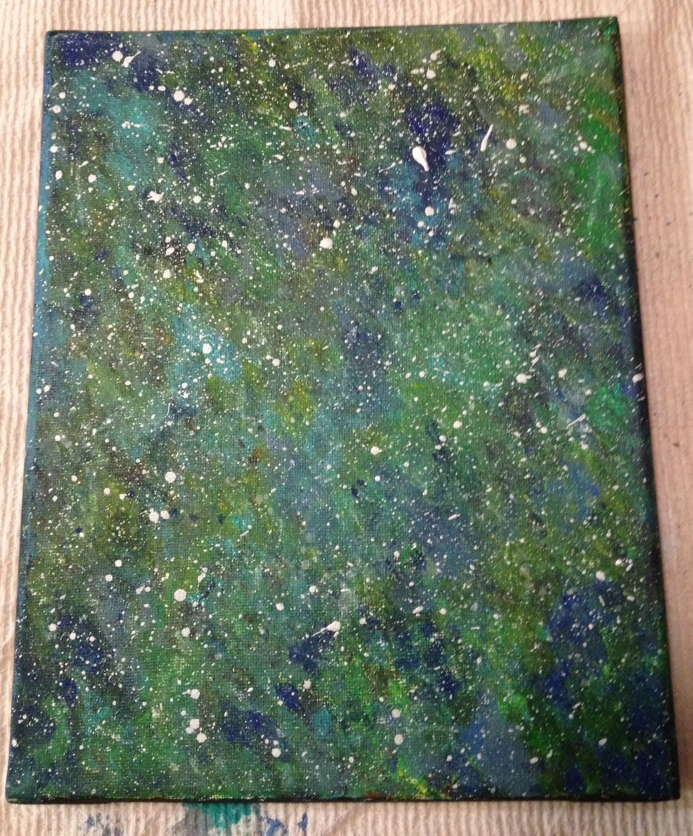 My depiction of space.