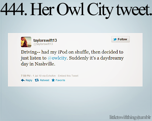 I Never Knew That Taylor Swift Had Made This Tweet Before O O Xd Swift Facts Taylor Swift 13 Taylor Swift