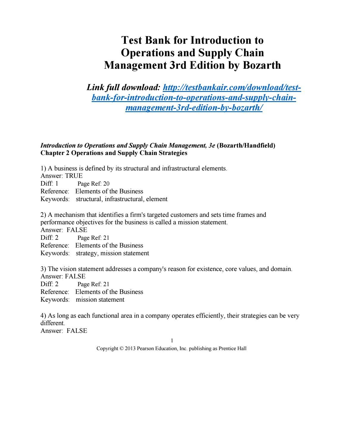 Pin On Introduction To Operations And Supply Chain Management 3rd