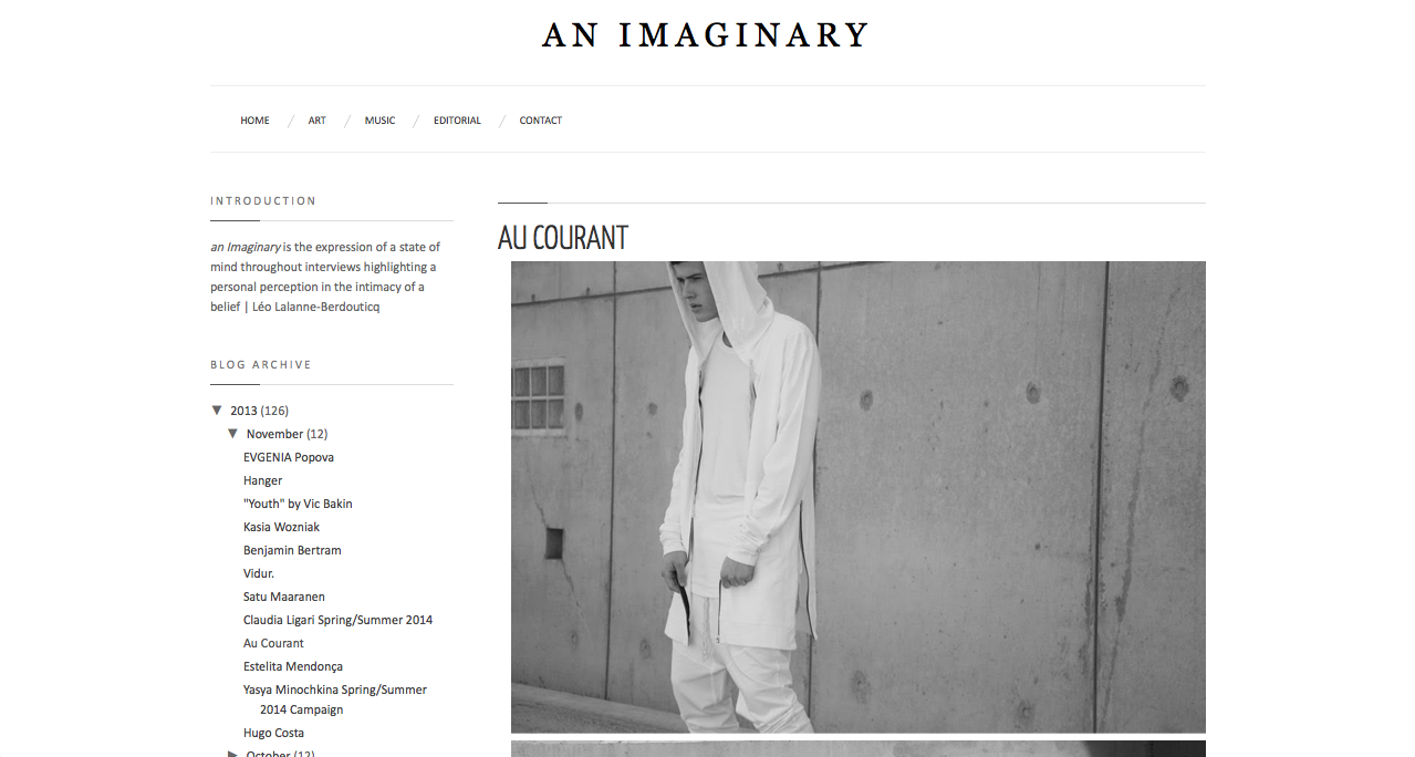 An Imaginary Article  http://www.AuCourant.co #aucourantparis #aucourant #aucourantwoman #paris #fashion #streetsyle #womenswear #menswear
