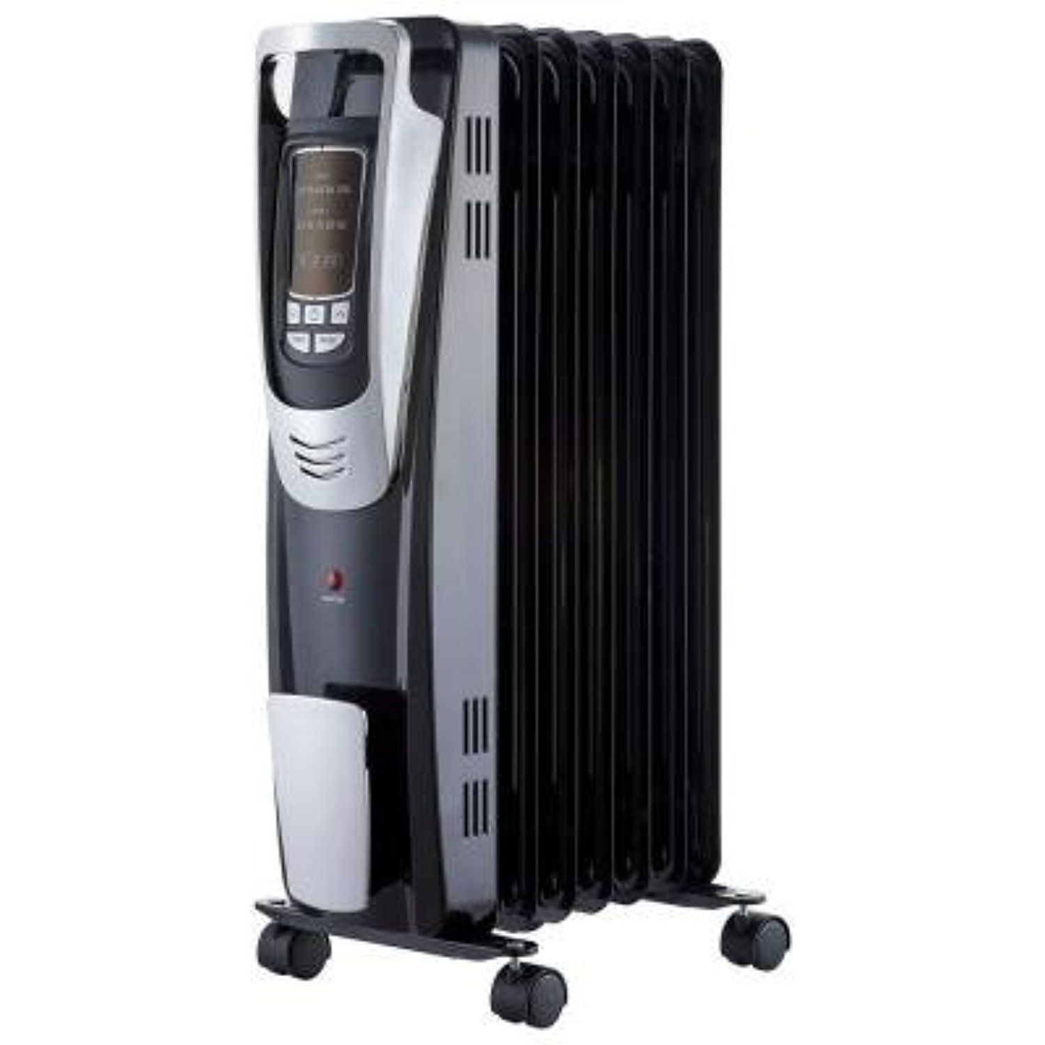 1500 Watt Digital Oil Filled Radiant Portable Heater With Remote Control Awesome Products Selected By Anna Churchi Portable Heater Radiator Heater Radiators