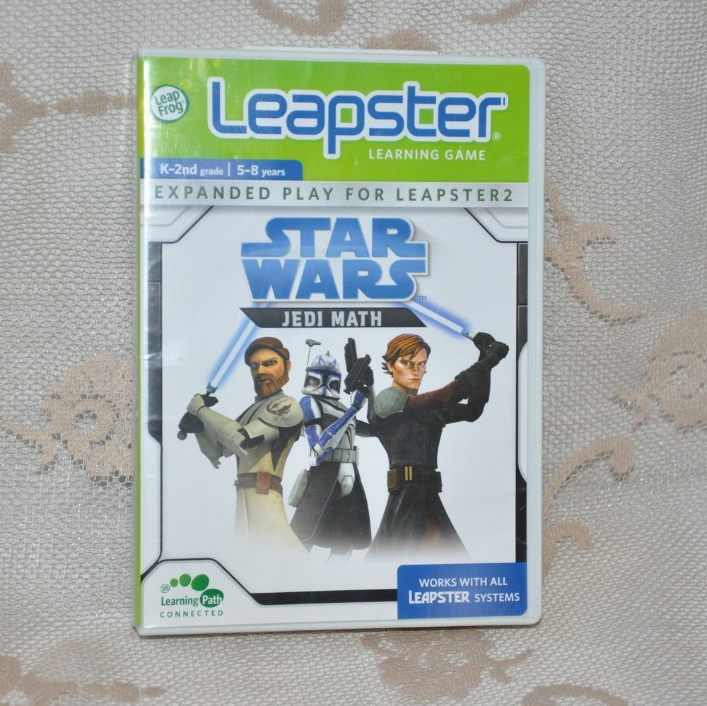 Uncategorized Star Wars Learning Games star wars jedi math leapster k 2nd grade 5 8 years learning game game