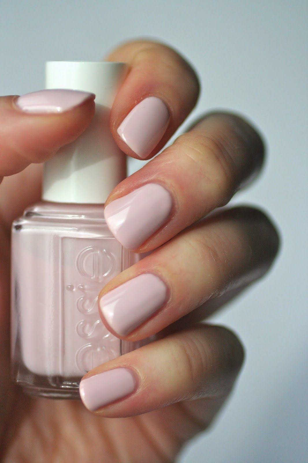 Essie Envy Essie Pale Pink Comparison Ballet Slippers