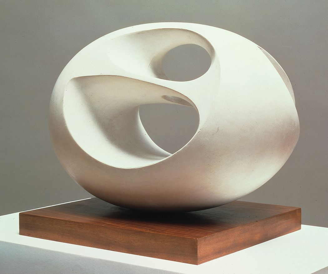 Early 20th Century Sculpture Barbara Hepworth Oval