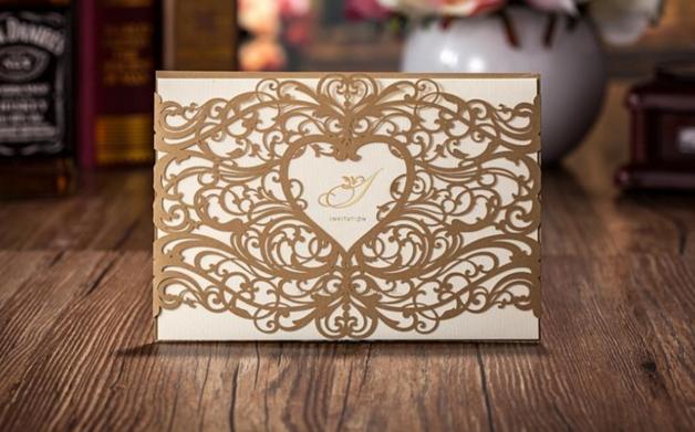 Invitaciones de boda personalizadas / Wedding invitations - hecho a manoen DaWanda.es