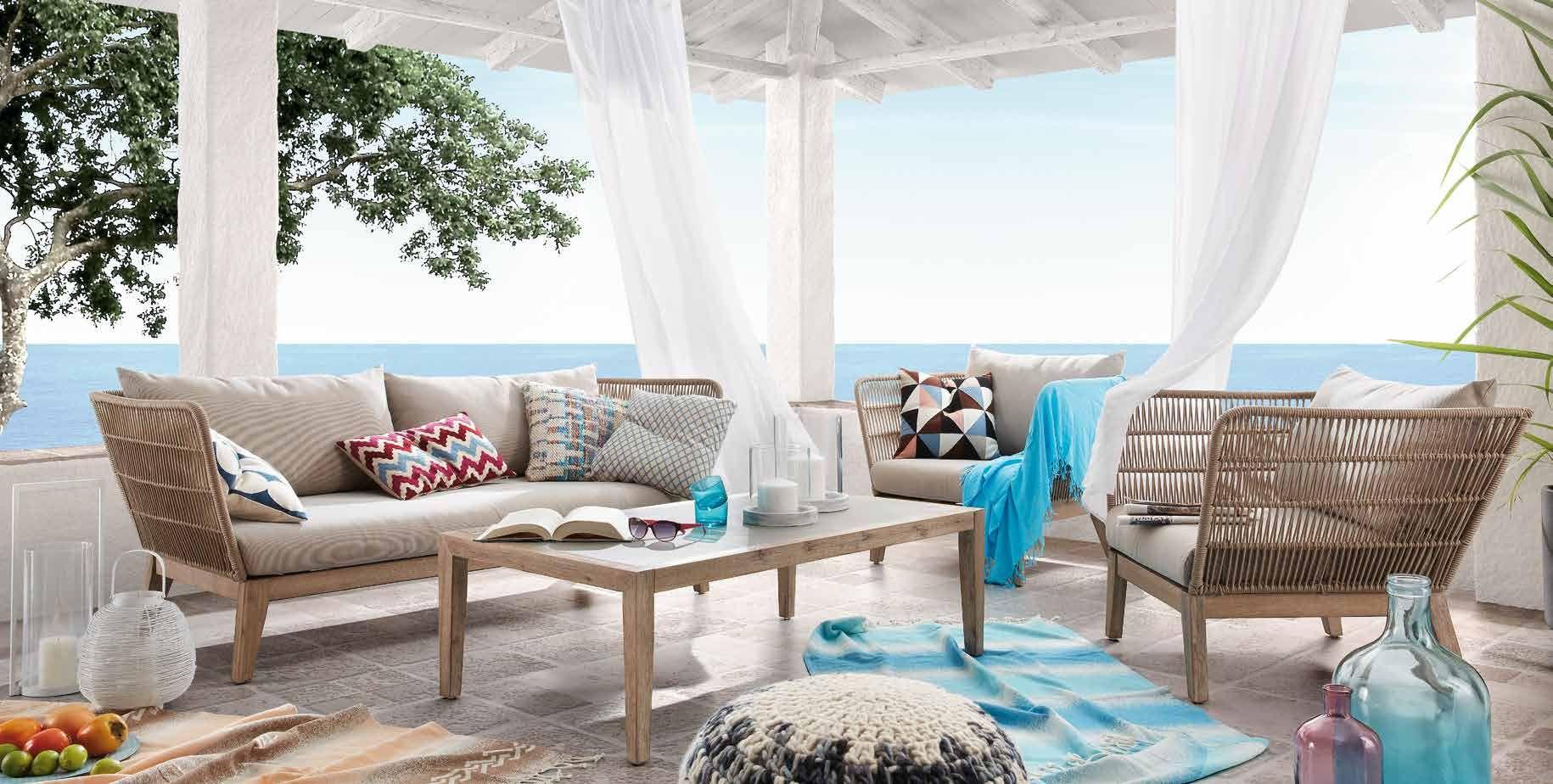 Nueva colección de muebles de jardín Bellano, Corvette, sofás y ...