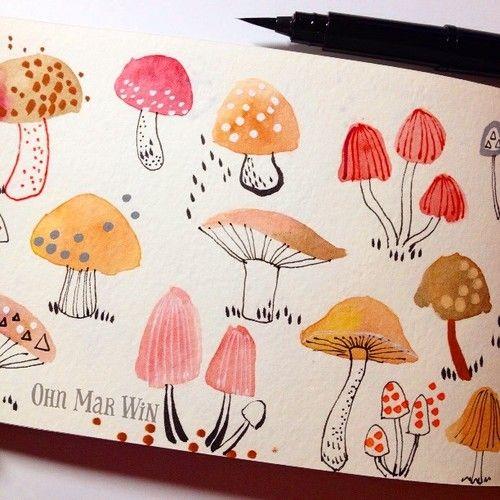 30 Days of Hand Lettering - week 1 — Ohn Mar Win Illustration
