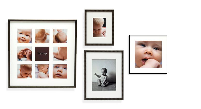 Meet Henry; Henry is our baby model. Look how handsome Henry looks in these photo books, and wall frames. Keep scrolling and clicking for these and other gift ideas to celebrate the baby in your life.