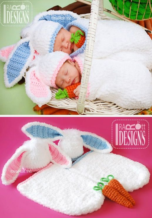 Floppy Bunny Ears Crochet Pattern With Video Tutorial | Azucena ...
