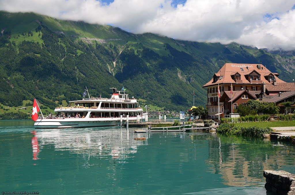 Iseltwald at Lake Brienz