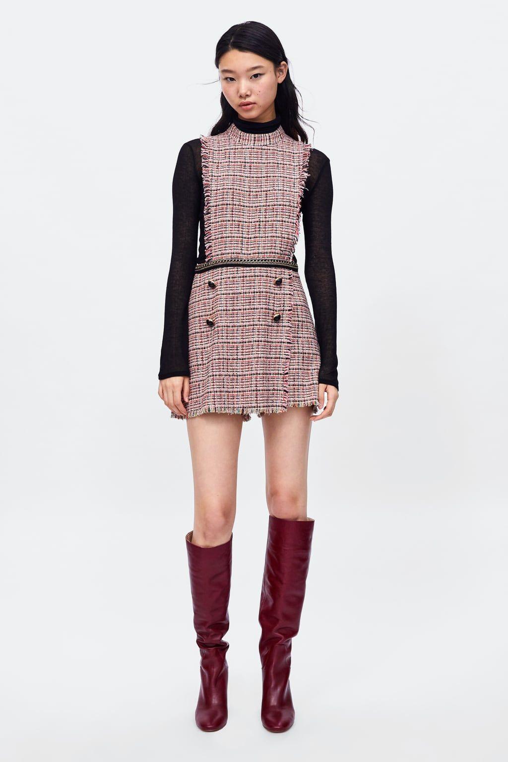 12319a27e44 MONO TWEED CADENAS Tweed Dress