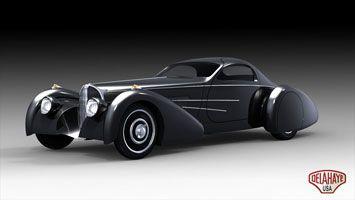 Delahaye USA Bella Figura Bugnotti Coupe